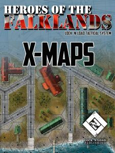 Lock 'n Load Tactical : Heroes of the Falklands – X-Maps